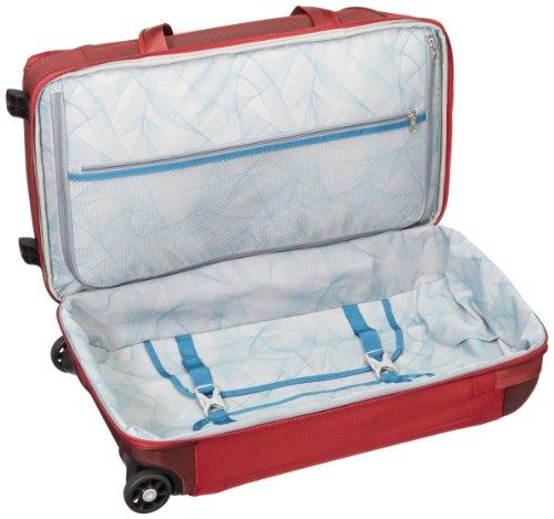 Samsonite Rollenreisetasche Motio Duffle WH, red, 60 liters, 53505-1726 red