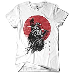 1974-Camiseta Premium, Mandalorian Samurai (DDjvigo)
