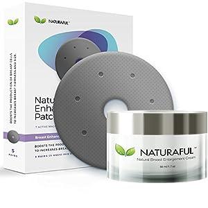 mas usuarios: Nuevo NATURAFUL - Paquete de parches de mejora y crema para el realce de senos -...