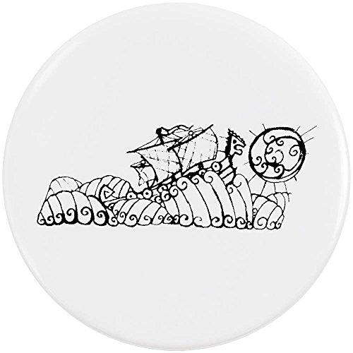 58mm 'Barco Vikingo Aventuras' Insignia de Botón Pin (BB00033288)