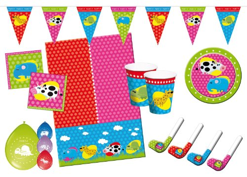 Folat 00229 - Kinderpartyset, Animals