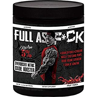 Rich Piana 5% FULL AS F*CK 360g Fruit Punch