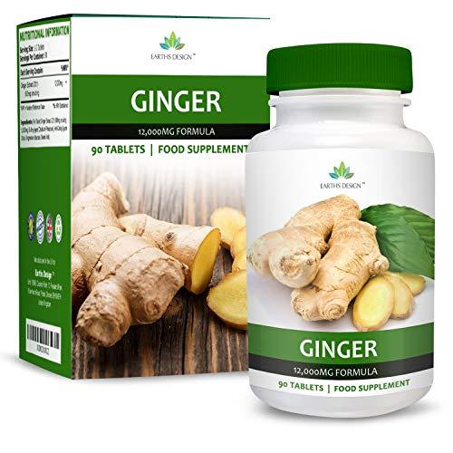 Extrait de Gingembre 12000mg - Extrait Haute Concentration 20:1 - Ginger Root - Convient aux...