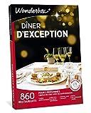 Wonderbox – Coffret cadeau couple - DÎNER D'EXCEPTION – 860 restaurants gastronomiques renommés, labellisés ou étoilés pour 2 personnes