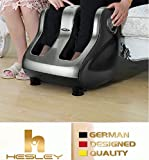 HESLEY Shiatsu Kneading Rolling Foot Leg Calf Massager with extention chord