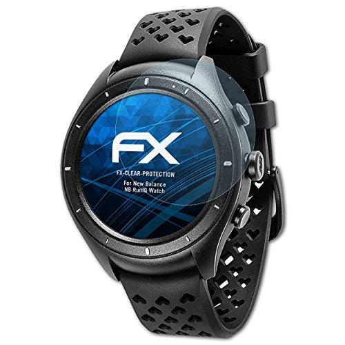 atFoliX Protezione Pellicola dello Schermo compatibile con New Balance NB RunIQ Watch Pellicola Protettiva, ultra-trasparente FX...