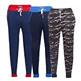 #8: TeesTadka Men's Cotton Slim Fit Joggers Pant Cum Track Pants for Men Combo Offers for Men Value Pack of 3 Pc