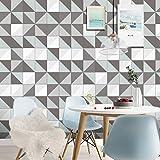 STRIR Adhesivo para azulejos 500cm x 20 cm - Adhesivo decorativo para azulejos para baño y cocina - Stickers azulejos - Collage de azulejos - Estilo europeo tradicional (T)