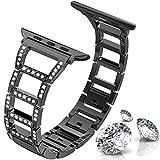 ITSHINY Pour Apple Watch bracelet 38mm 40mm pour femmes, bracelets Iwatch Mode...