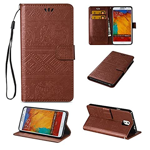 Etui Flip Cover Galaxy Note 3 - Coffeetreehouse Samsung Galaxy Note 3 Coque de