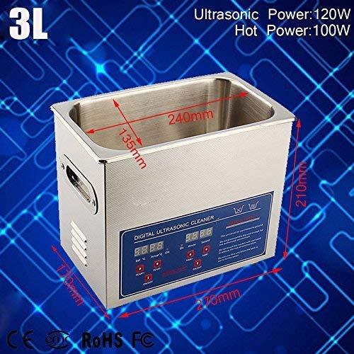 1.3L/2L/3L/6L Ultra Sonic Pulitore ad Ultrasuoni Ultrasonic Cleaner in microfibra 3 L