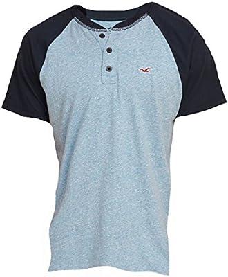 Hollister - Camiseta - Camiseta - Básico - Manga corta - para hombre