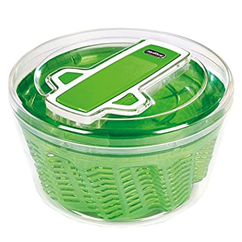 Zyliss Swift Dry Salad Spinner, Green, Small