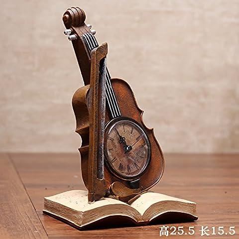 BEEST-Antike retro Dekoration kreative Modell, Violine, gelb