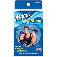 Mack's Ear Band Swimming Headband, Blue/ Purple (Pack of 2) by Macks preisvergleich bei billige-tabletten.eu