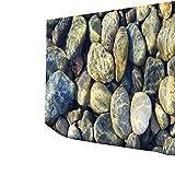 Mur de Tapisserie pendante de pavé Rond Couvrant la Nappe Serviette de Plage décor de Maison,130x150cm par Anliyou