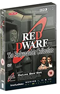 Red Dwarf - The Bodysnatcher Collection : BBC Series 1 - 3 Remastered Deluxe Box Set [DVD]