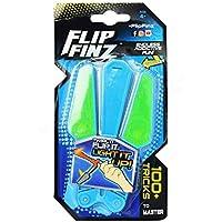 Andensoner Flip Finz Light Knife, Flip Finz Stress Reliever Mejora el Enfoque Novedades Juguetes Entrenamiento Manual Antiestrés Gadgets Light Up (Color : Azul )