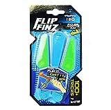 Flip Finz Lichtmesser, Flip Finz Stressabbau Verbessern Fokus Neuheiten Spielzeug Handtraining Anti Stress Gadgets Leuchten SUxian (Farbe : Blau)