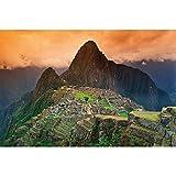 Póster Machu Piccu pared de decoración América del Sur Perú Monumentos de Inka Ciudad Ruinas UNESCO Mundo Herencia Cultura Paisaje   pared Póster Foto Póster pared decorativa pared gestaltung by Great Art (140x 100cm)