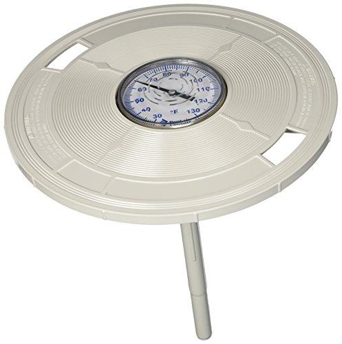 Pentair L4W 25,06 cm Tapa Skimmer redonda con termómetro - blanco