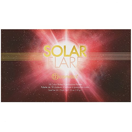 Solar Flare - 18 Farben Baked Lidschatten Palette