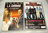 Kevin Spacey Collection / L.A. Confidential - Usual Suspects [VHS] Cassette Vidéo