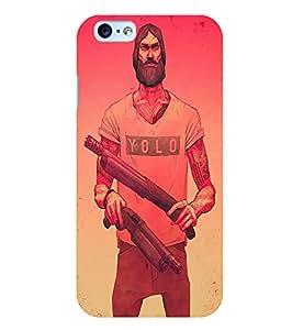 Citydreamz Yolo Hard Polycarbonate Designer Back Case Cover For Apple Iphone 4/4S