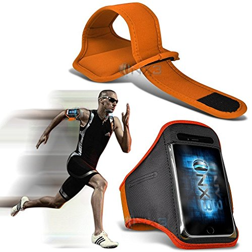 onx3-blackberry-keyone-case-orange-case-cover-adjustable-fitness-running-jogging-cycling-gym-armband