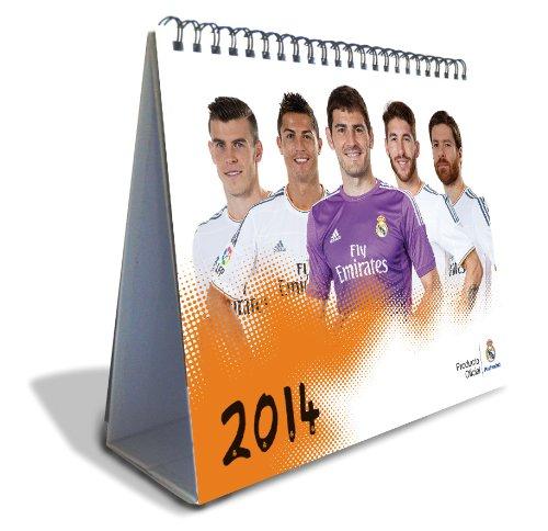2014 Real Madrid Tischkalender (16x17cm) - One Size