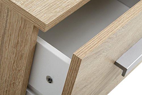 Side Table Jysk.Jysk Bedside Table Kabdrup 1 Drawer Oak Search Furniture