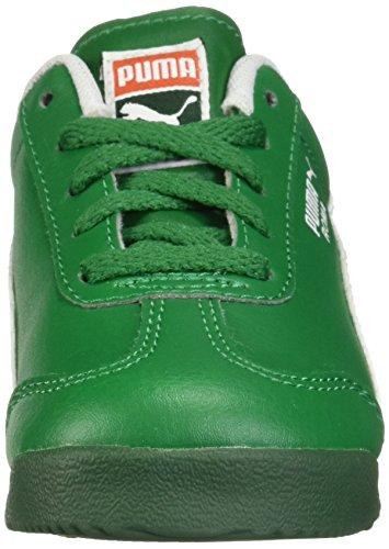 PUMA Baby Roma Basic Inf Sneaker  Verdant Green White  6 M US Toddler
