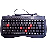 Quantum QHM7309 Wired Mini Keyboard (Black)