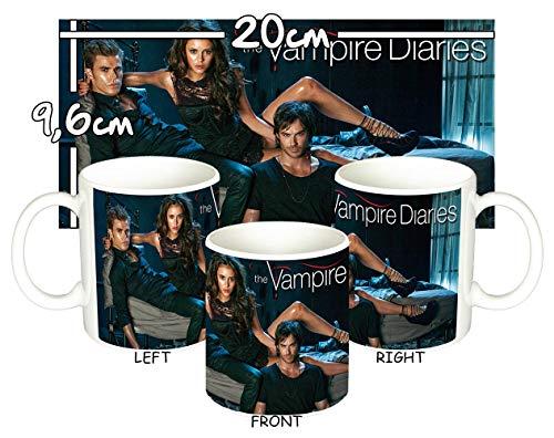 MasTazas The Vampire Diaries Nina Dobrev Ian Somerhalder Paul Wesley Tasse Mug