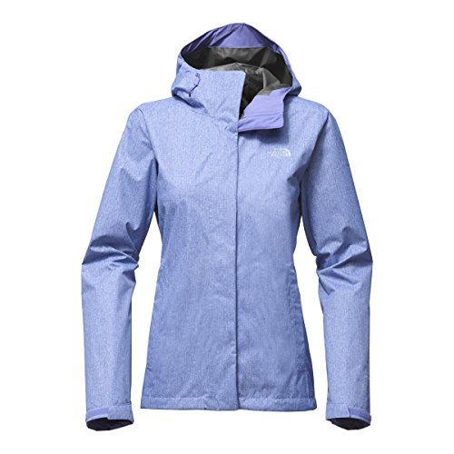 The North Face Women's Print Venture Jacket - Stellar Blue Denim Print - XS North Face Women Venture Jacket