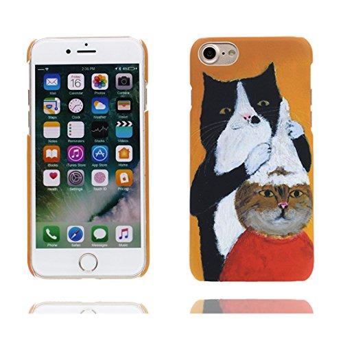 iPhone 7 Custodia, iPhone 7 Copertura, Thin Cartoon Durevole TPU Disney Carino Case Cartoon Cover Shell - [ Cartoon Ragazza , Per iPhone 7 4.7 ], Graffi Resistenti # 4