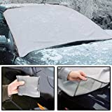 Magnetic Car Windscreen Cover, All Season Protector, Anti Frost snow cover, Protects from Ice in winter keeps car cool in Summer. Dimension 162 x 96cm by Fair Deal