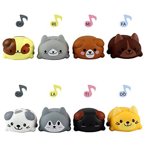 Juguetes Educativos Musica Escala Musical Caliente Perro Jugador Eléctrico Piano Coro Niños Juguetes Educativos para Niños Holatee
