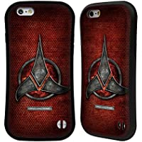 Official Star Trek Empire Klingon Badges Hybrid Case for Apple iPhone 6/6s