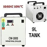 prit CW-3000 Industrielle Wasser-Kühler Cooler 9L Tank Lasergravierer Kühlung