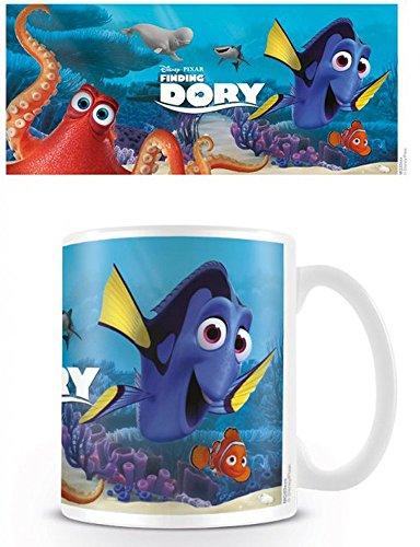 empireposter 740311trova Dorie Characters-Finding Dory Disney-Tazza, Diametro 8,5cm in ceramica, Multicolore, 12x 8x 9,5cm