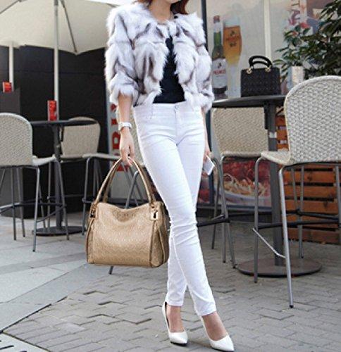 Fräulein Xia Ji Mode Tragbare Umhängetasche Gold