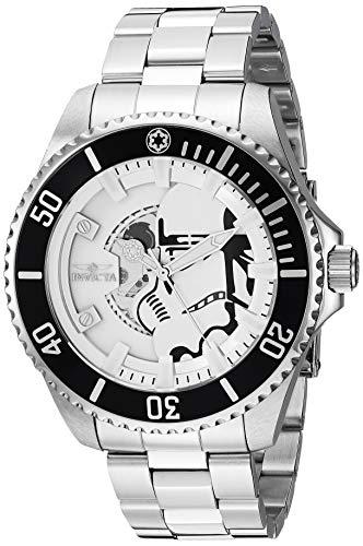 Invicta 26595 Star Wars - Stormtrooper Herren Uhr Edelstahl Automatik weißen Zifferblat