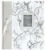 Innova Q7302238 Fotoalbum für Hochzeitsfotos, 60 Seiten, transparent