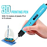 3D Drucker Stift Set, 3D Stift Set mit LCD-Bildschirm, 3D Stereoscopic Printing Pen Drawing, 3D Druckstift mit 1.75mm PLA Filament für Kinder, Erwachsene, Kritzelei, Zeichnung und Kunst & handgefertigte Werke