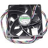 Sunon 70* * * * * * * * * * * * * * * * 70pf70251vx-q000-s9925mm 12V Ventilateur de refroidissement 3,7W 4fils 7cm