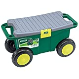 Best gardening tools - Draper GRT/DD Gardeners Tool Cart And Seat, Blue Review