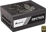 Corsair RM750i Alimentation PC (Modulaire Complet, 80 PLUS Gold, 750 Watt, EU)