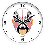 Reloj de pared creativo sala minimalista moderno reloj de pared reloj de cuarzo,White 30.5cm