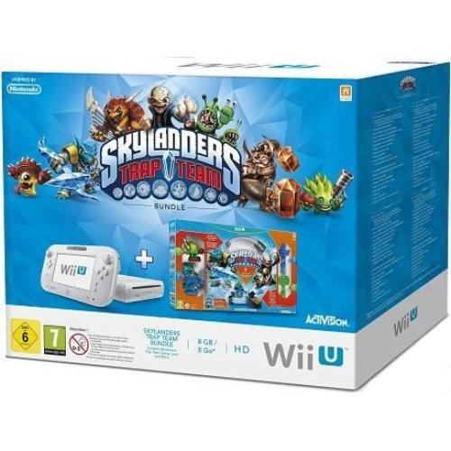 Nintendo Wii U Console Basic + Skylanders Trap Team